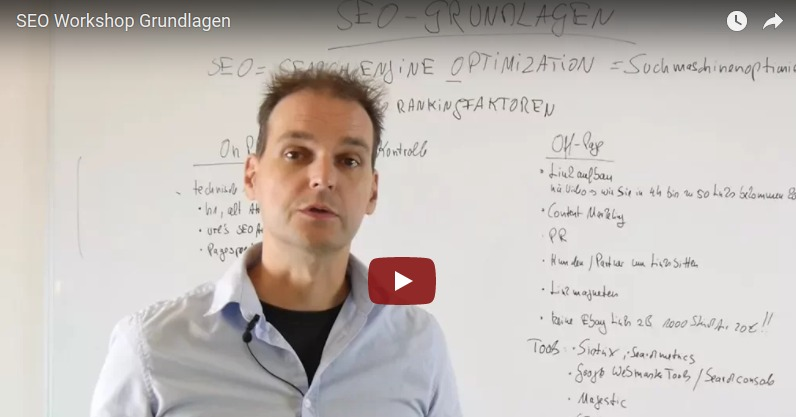 SEO Workshop Grundlagen